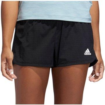 adidas kurze Sporthosen2in1 Visual Interest Short Women schwarz