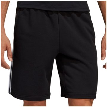 adidas kurze SporthosenMust Haves 3 Stripes French Terry Short schwarz