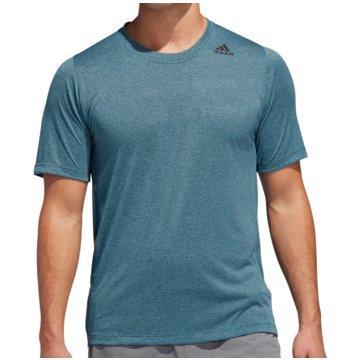 adidas T-ShirtsFreeLift Tech Climacool Fitted Tee blau