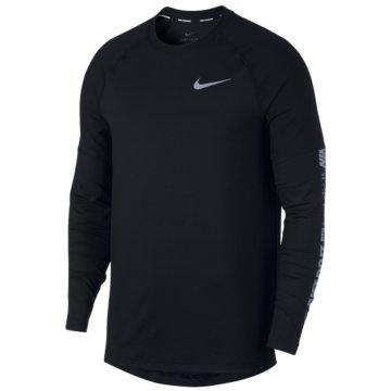 Nike SweaterElement Run Crew LS schwarz