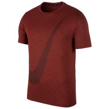 Nike T-ShirtsBreathe Training Logo SS Top rot