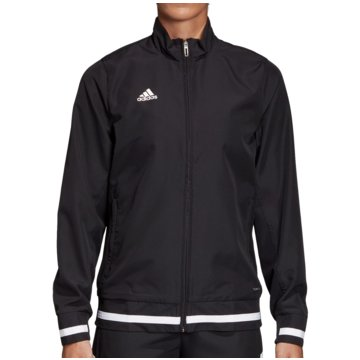 adidas FleecejackenTEAM19 Woven Jacket Women schwarz