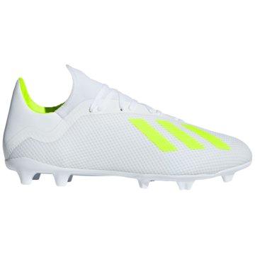 adidas Stollen-SohleX 18.3 FG Fußballschuh - BB9368 weiß