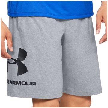 Under Armour kurze Sporthosen grau