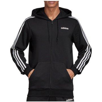 adidas HoodiesE 3S FZ FL - DQ3101 schwarz