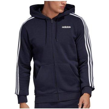 adidas HoodiesE 3S FZ FL - DU0475 blau