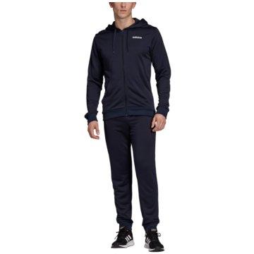 adidas TrainingsanzügeTracksuit Linear French Terry Hoodie blau