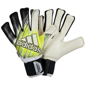 adidas TorwarthandschuheClassic Pro Fingersave gelb