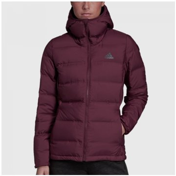 adidas FunktionsjackenHelionic Down Hooded Jacket Women rot