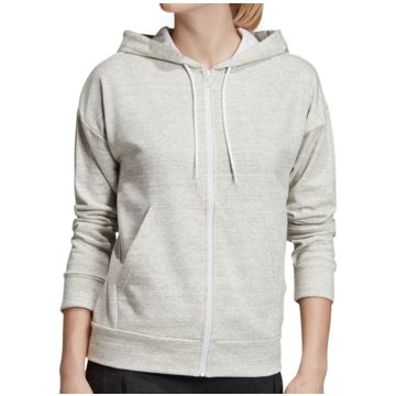 adidas HoodiesMust Haves Heathered FZ Hood Women grau