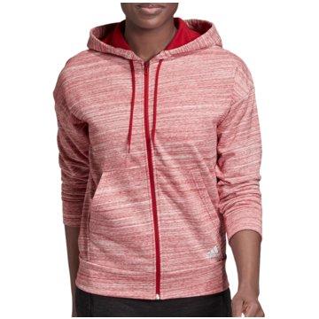 adidas SweaterW MH HTH FZ HD - EB3836 rot