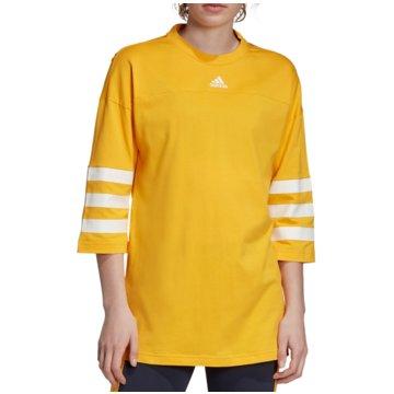 adidas LangarmshirtSport ID Tee Women gelb