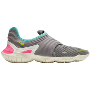 Nike Natural RunningFree RN Flyknit 3.0 Women grau