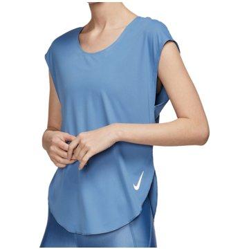 Nike T-ShirtsCity Sleek Top Women blau