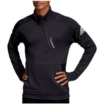 adidas TrainingsjackenID 1/4 Zip Climaheat LS schwarz