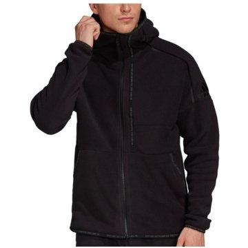 adidas HoodiesZ.N.E. Hooded Fleece FZ Pullover schwarz