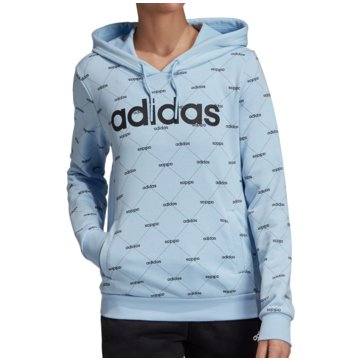 adidas HoodiesLinear Graphic Core Fav Hoody Women blau
