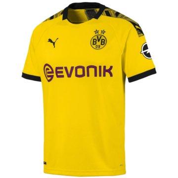 Puma Fan-TrikotsBVB Home Shirt Replica wit gelb