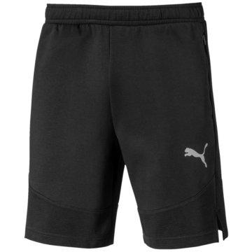Puma kurze SporthosenEvostripe Short schwarz