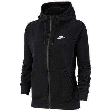 Nike SweatjackenEssential Fleece FZ Hoodie Women schwarz