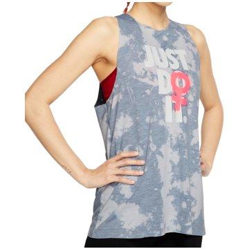 Nike TopsRebel Sleeveless Top Women grau