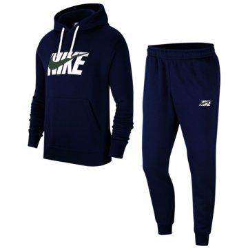 Nike JogginganzügeM NSW CE TRK SUIT HD FLC GX - CI9591 blau