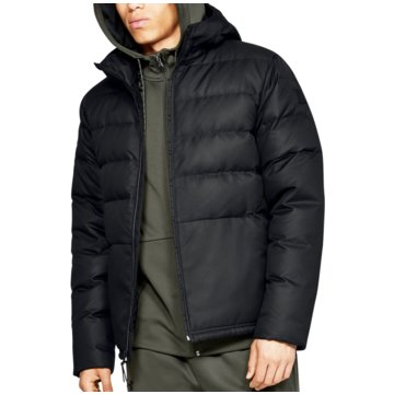 Under Armour TrainingsjackenSportstyle Hooded Down Jacket schwarz
