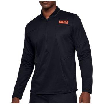 Under Armour SweatshirtsColdGear Gametime Fleece 1/2 Zip Top schwarz