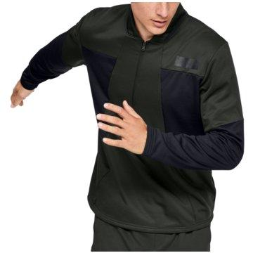 Under Armour SweatshirtsColdGear Gametime Fleece 1/2 Zip Top grün