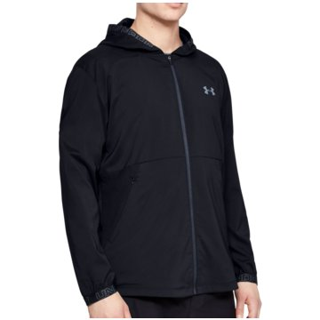 Under Armour SweatshirtsVanish Woven Jacket schwarz