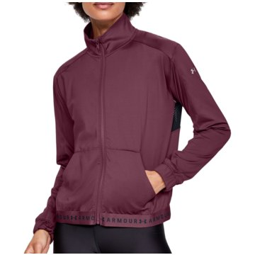 Under Armour HoodiesHeatGear Armour Full Zip Jacket Women lila