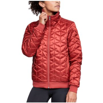 Under Armour TrainingsjackenColdGear Reactor Performance Jacket Women rot