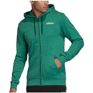 adidas HoodiesEssentials Linear FZ Hoodie French Terry grün