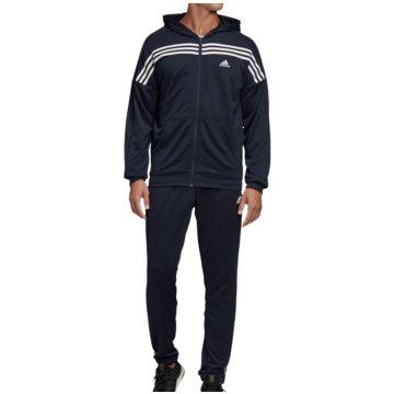 adidas TrainingsanzügeMTS TRAININGSANZUG - FS6091 blau