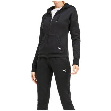 Puma JogginganzügeClassic Hooded Sweat Suit CL Women schwarz
