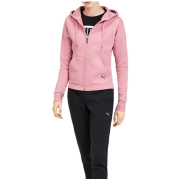 Puma JogginganzügeClassic Hooded Sweat Suit CL Women rosa
