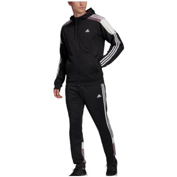 adidas TrainingsanzügeTrack Suit Sport schwarz