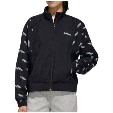 adidas TrainingsjackenFavorites Woven Track Top Women schwarz