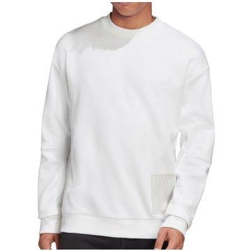 adidas SweatshirtsTech Graphic Crew weiß