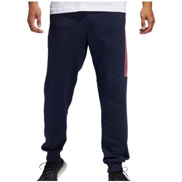 adidas TrainingshosenMust Haves Graphics Pant blau