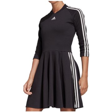 adidas Kleider3-Stripes Dress Women schwarz