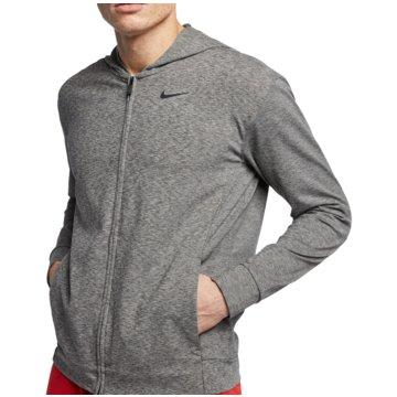 Nike SweatjackenDry Hoodie FZ grau