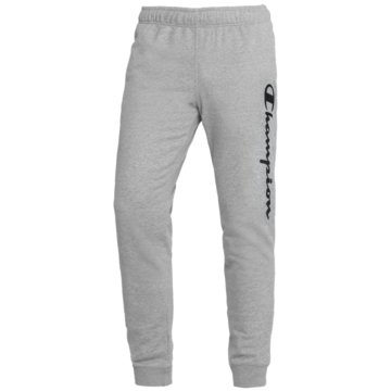 Champion JogginghosenRib Cuff Fleece Logo Pants grau
