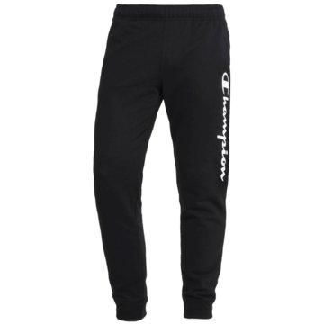 Champion JogginghosenRib Cuff Fleece Logo Pants schwarz