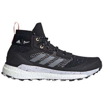 adidas Outdoor SchuhTerrex Free Hiker Parley Boost schwarz