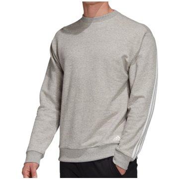 adidas SweatshirtsMust Haves Lighweight French Terry Crew grau