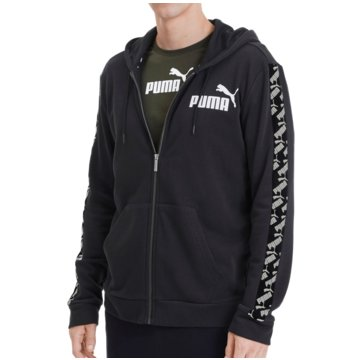 Puma SweatshirtsAmplified Hooded Training Sweat Jacket schwarz