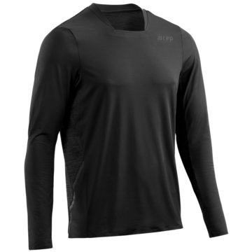 CEP LangarmshirtRun Shirt Long Sleeve schwarz