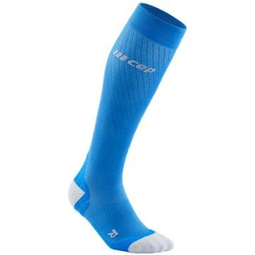 CEP KniestrümpfeRun Ultralight Compression Socks Women blau