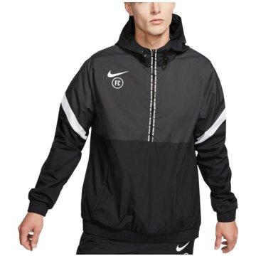 Nike ÜbergangsjackenF.C. Track Jacket schwarz